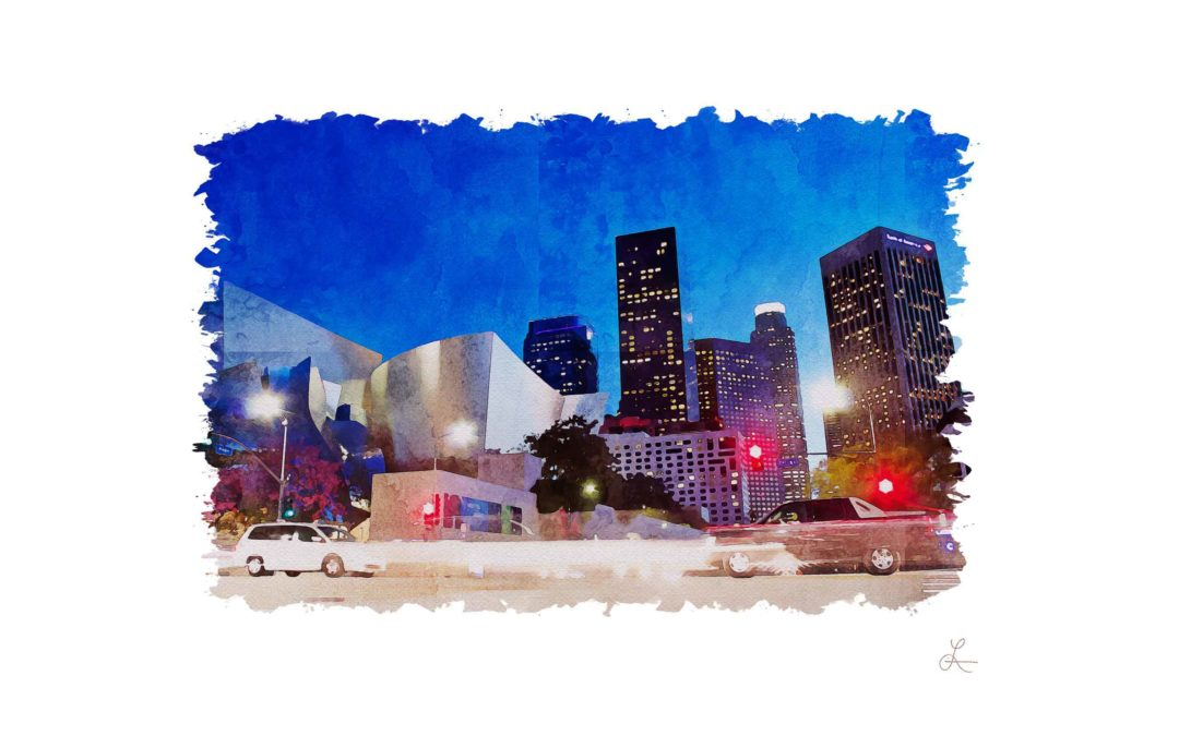 City Street Night