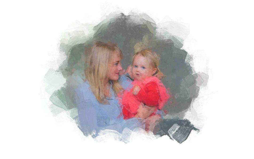 Mama loves Katie