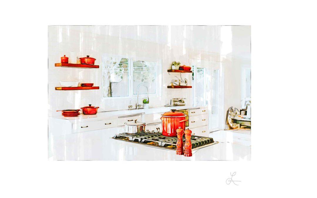 Red Kitchen Concept
