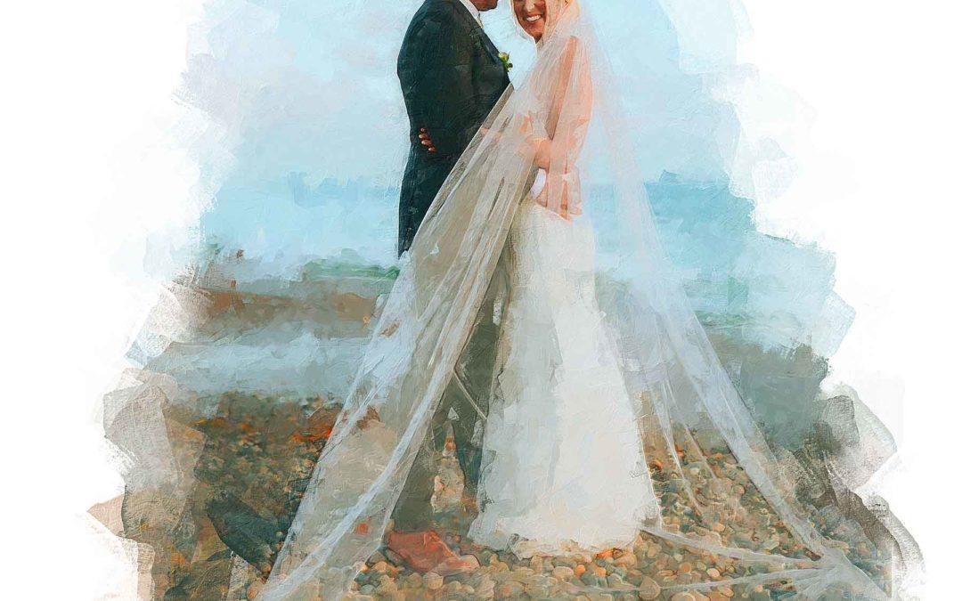 Rocky Beach Wedding
