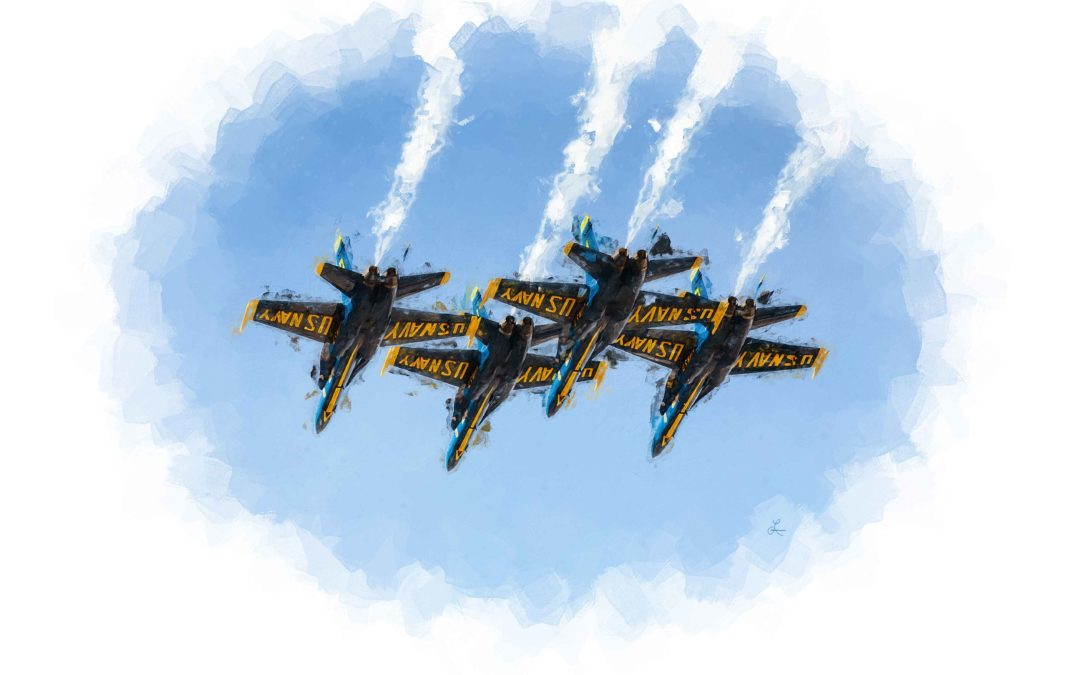 Blue Angels over Atlanta